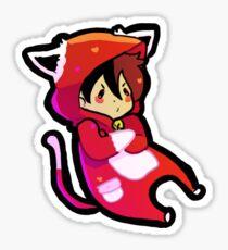 Cat keith: voltron Sticker