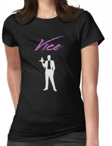 Vice - 80s Womens Fitted T-Shirt