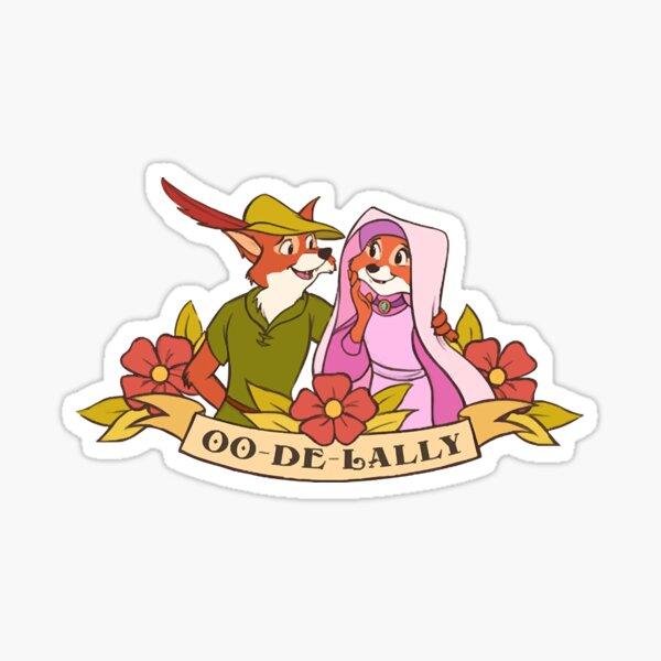 Oo-de-Lally  Sticker