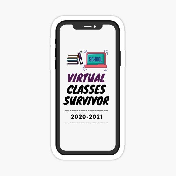 Virtual Classes Survivor-2020-2021 Sticker
