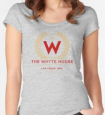 The Whyte House (aged look) Women's Fitted Scoop T-Shirt