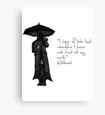 Withnail & I - Quote  Canvas Print