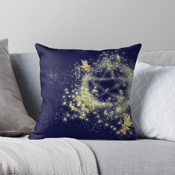 Fairyflies Throw Pillow