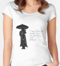 Withnail & I - Quote  Women's Fitted Scoop T-Shirt