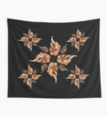 Flaming Flower: The gate of Fire (Arabic) Wall Tapestry