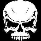 Grunge Skull Design by Explicit Designs