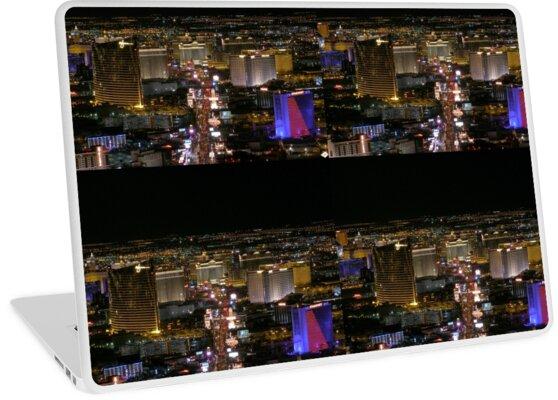 Aerial Las Vegas Strip - March 2006 by urbanphotos