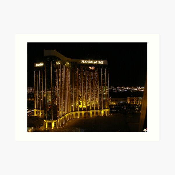 Mandalay Bay Art Print