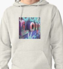 Graffiti with Love Pullover Hoodie