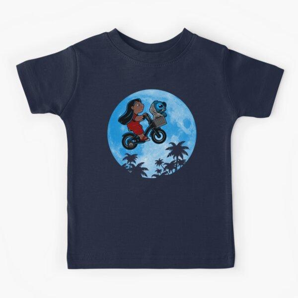 Stitch Phone Home Camiseta para niños