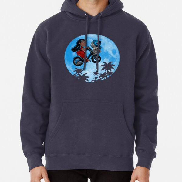 Stitch Phone Home Sudadera con capucha