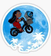 Stitch Phone Home Sticker