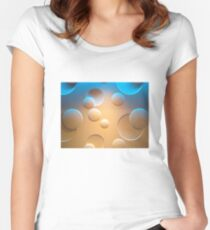 Cosmic Bubbles Women's Fitted Scoop T-Shirt