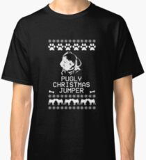 Pugly Christmas Jumper (White) Classic T-Shirt