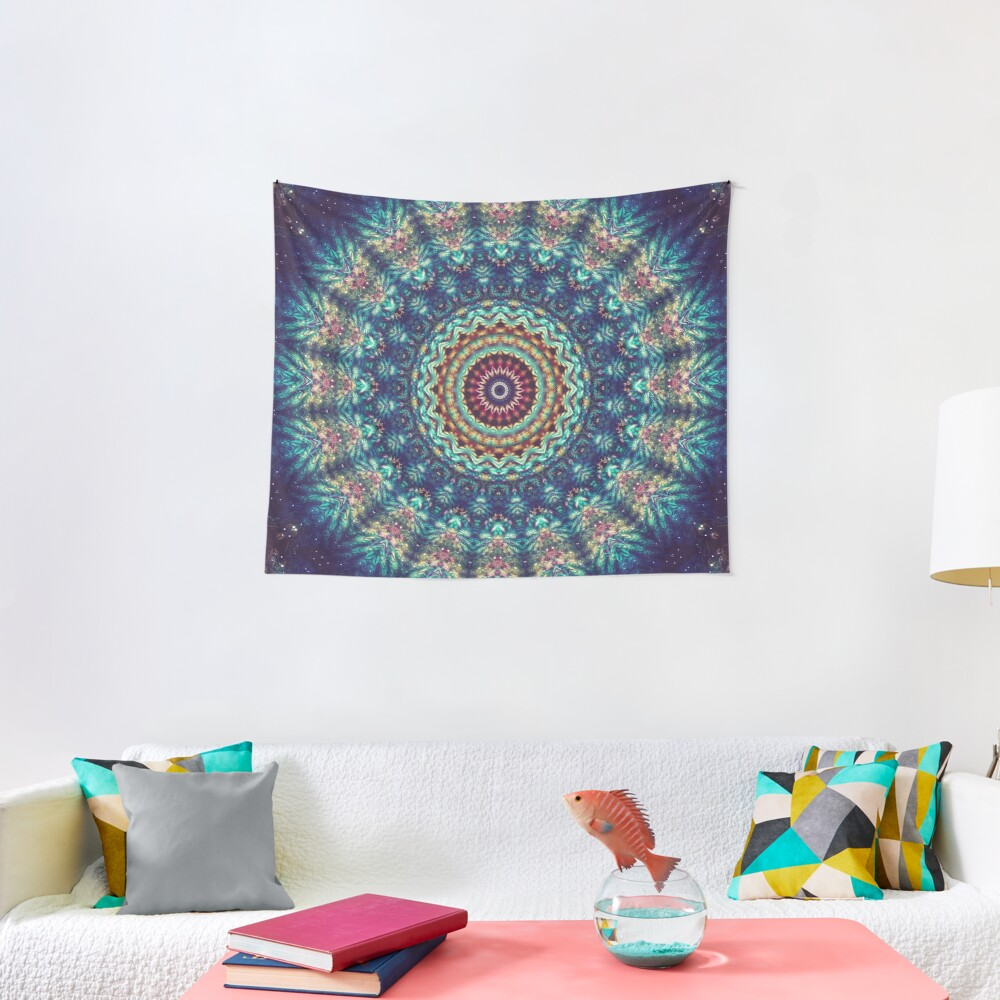 Gazing At The Mystery Tapestry