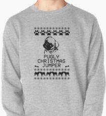 Pugly Christmas Jumper (Black) T-Shirt