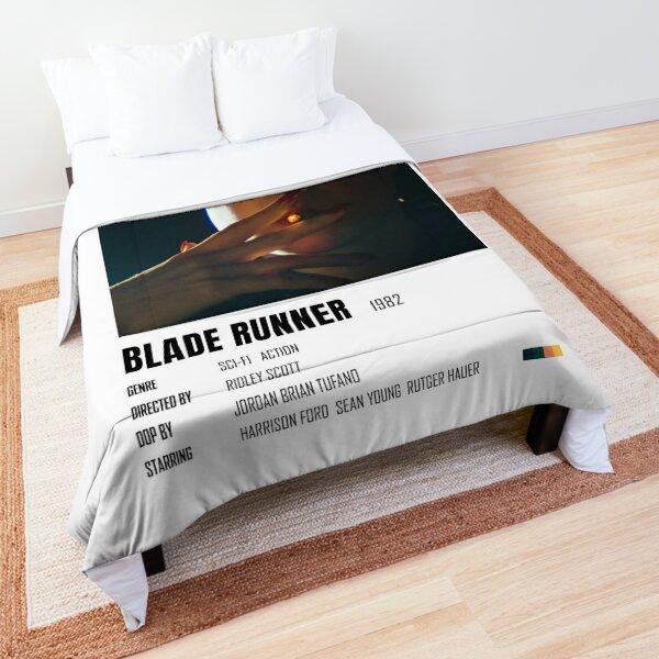 Blade Runner 1982 minimalist poster Comforter
