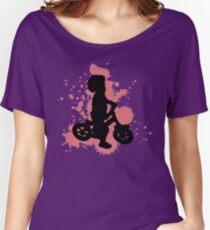 Balance Biker Red Rider Women's Relaxed Fit T-Shirt
