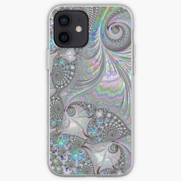 Abalone Shells - Fractal Art iPhone Soft Case