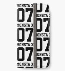 Monsta X 07 Athletic Style (Black) iPhone Wallet/Case/Skin