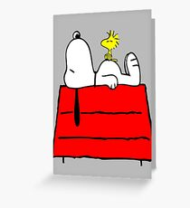 Snoopy chill out Greeting Card
