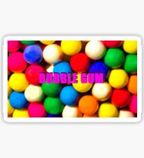 Bubble Gum with text Sticker