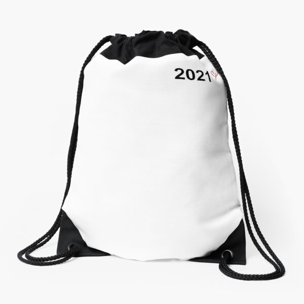 date and heart / Couple / Family Drawstring Bag