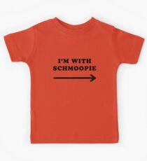 Gillian anderson im with schmoopie Kids Tee