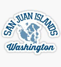 Pegatina Islas de San Juan.