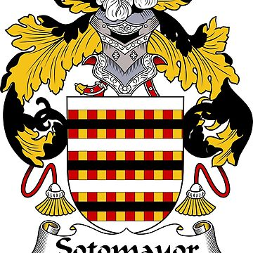 Sotomayor Coat of Arms/Family Crest by carpediem6655