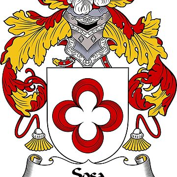 Sosa Coat of Arms/ Sosa Family Crest by carpediem6655
