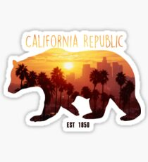 Cali Republic Sticker