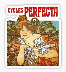 Mucha - Cycles Perfecta Sticker