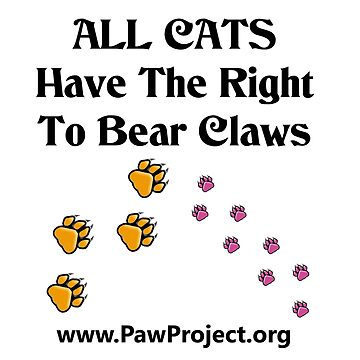 Right to Bear Claws - Color by PawProject