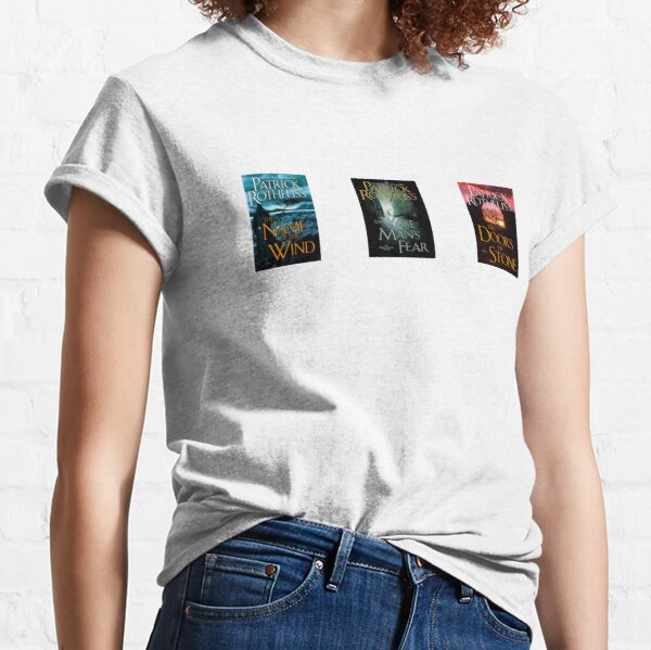 The Kingkiller Chronicle 3 book covers Classic T-Shirt