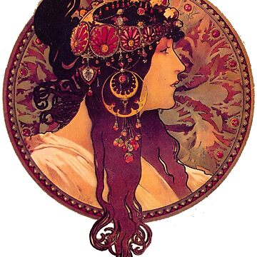 Mucha - Donna Orechini by carpediem6655