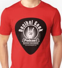 Decibel Geek Guitar Pick! Slim Fit T-Shirt