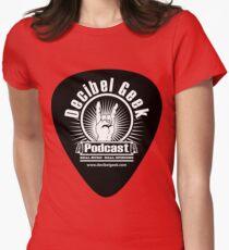 Decibel Geek Guitar Pick! Women's Fitted T-Shirt