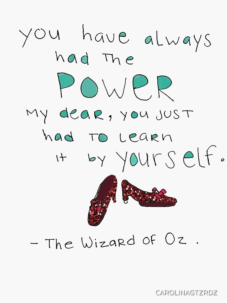 wizard of oz by CAROLINAGTZRDZ