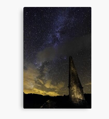 Milky Way Over Murrays Monument Canvas Print