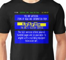 Pages From Ceefax Unisex T-Shirt