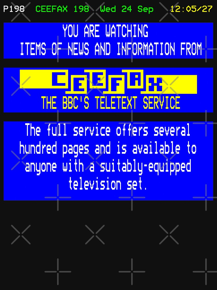 NDVH Pages From Ceefax by nikhorne