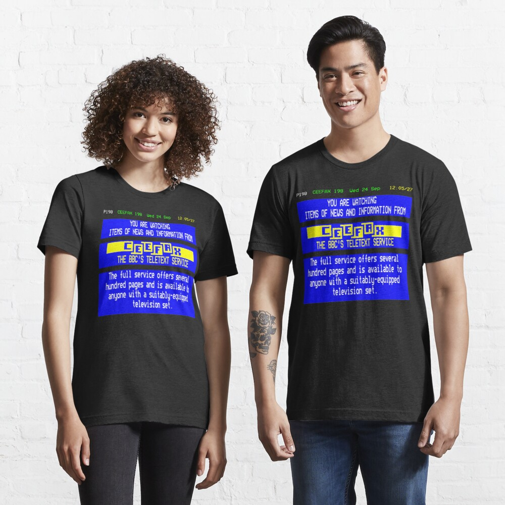 NDVH Pages From Ceefax Essential T-Shirt