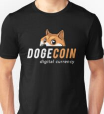 DogeCar (dogecoin Nascar t-shirt) Unisex T-Shirt
