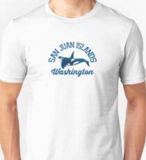 San Juan Islands. Unisex T-Shirt