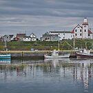 Pretty Bonavista, NL, Canada by Gerda Grice