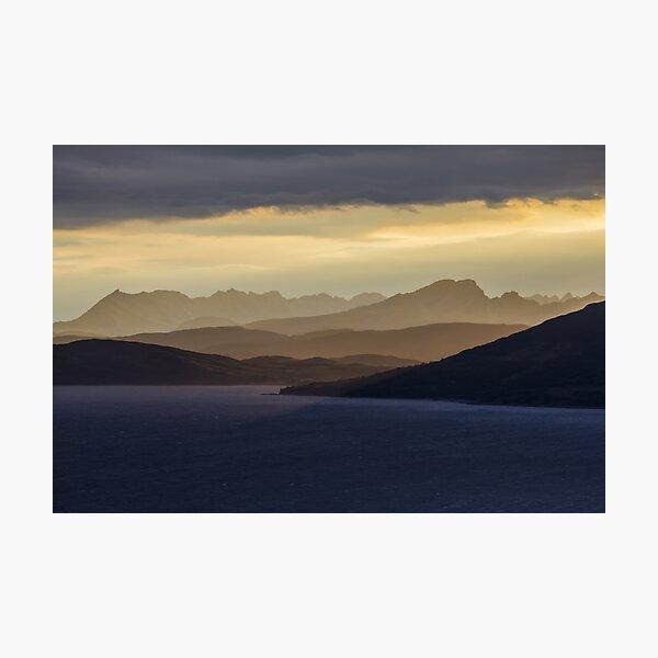 Isle of Skye Sunset Photographic Print