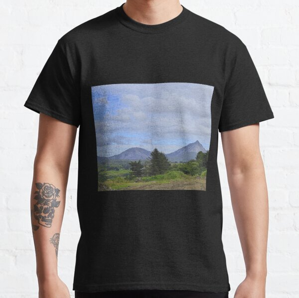 Mount Errigal From A Different Angle Classic T-Shirt