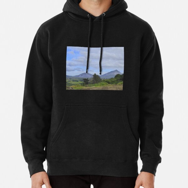 Mount Errigal From A Different Angle Pullover Hoodie