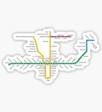 Pegatina Metro de Toronto